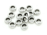 Pewter Bead - Spacer Ring 5mm (PB806)