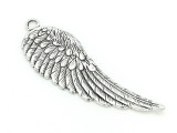 Wing (left) - Pewter Pendant 66mm (PW912)