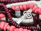 Key to My Heart - Bead Collection (C1019)