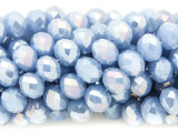 Periwinkle Blue Crystal Glass Beads 10mm (CRY281)