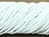 White Crystal Glass Beads 2mm (CRY296)