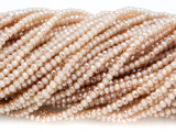 Beige Crystal Glass Beads 2mm (CRY298)