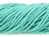 Light Turquoise Crystal Glass Beads 2mm (CRY306)