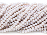 Dusty Pink Crystal Glass Beads 4mm (CRY329)