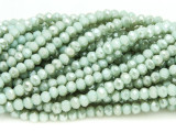 Mint Green Crystal Glass Beads 4mm (CRY355)