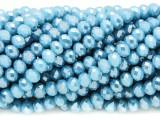 Sky Blue Crystal Glass Beads 6mm (CRY367)