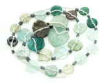 Afghan Ancient Graduated Roman Glass Beads (AF1608)