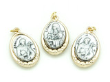 St. Francis & St. Clare Pendant - 20mm (SF12)