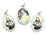 St. Francis & St. Clare Picture Pendant - 26mm (SF16)