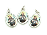 St. Francis w/Doves Picture Pendant - 29mm (SF19)