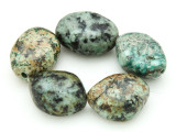 "African ""Turquoise"" Oval Nugget Gemstone Beads 26-29mm (GS4315)"