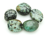 "African ""Turquoise"" Oval Nugget Gemstone Beads 25-27mm (GS4318)"