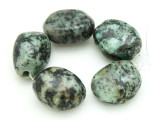 "African ""Turquoise"" Oval Nugget Gemstone Beads 19-21mm (GS4321)"