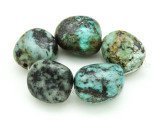 "African ""Turquoise"" Oval Nugget Gemstone Beads 18-21mm (GS4322)"