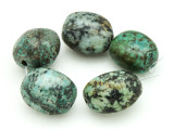 "African ""Turquoise"" Oval Nugget Gemstone Beads 18-22mm (GS4323)"