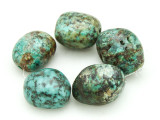 "African ""Turquoise"" Oval Nugget Gemstone Beads 18-20mm (GS4329)"