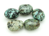 "African ""Turquoise"" Oval Nugget Gemstone Beads 19-21mm (GS4330)"