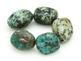 "African ""Turquoise"" Oval Nugget Gemstone Beads 20-22mm (GS4332)"