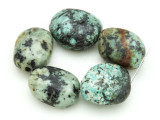 "African ""Turquoise"" Oval Nugget Gemstone Beads 16-19mm (GS4333)"