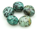 "African ""Turquoise"" Oval Nugget Gemstone Beads 18-21mm (GS4335)"