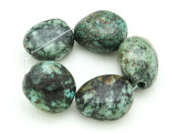 "African ""Turquoise"" Oval Nugget Gemstone Beads 18-21mm (GS4336)"