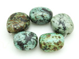 "African ""Turquoise"" Oval Nugget Gemstone Beads 18-20mm (GS4338)"