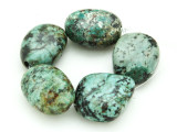 "African ""Turquoise"" Oval Nugget Gemstone Beads 18-23mm (GS4339)"