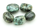 "African ""Turquoise"" Oval Nugget Gemstone Beads 20-23mm (GS4340)"
