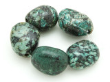 "African ""Turquoise"" Oval Nugget Gemstone Beads 19-22mm (GS4341)"