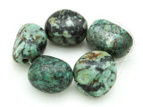 "African ""Turquoise"" Oval Nugget Gemstone Beads 19-26mm (GS4343)"