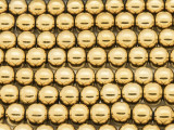 Brass Round Metal Beads - 8mm (ME461)