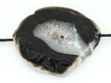 Black Agate Pendant 48mm (GSP1671)