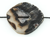 Black Agate Pendant 48mm (GSP1686)