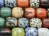 Mixed Barrel Gemstone Beads 13-18mm (GS4262)