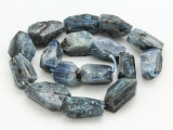 Kyanite Faceted Nugget Gemstone Beads 19-28mm (GS4274)