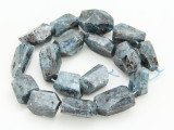 Kyanite Faceted Nugget Gemstone Beads 22-28mm (GS4275)