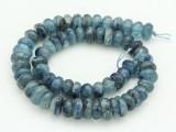 Kyanite Irregular Rondelle Gemstone Beads 10-14mm (GS4277)