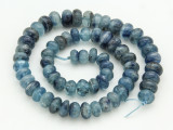 Kyanite Irregular Rondelle Gemstone Beads 8-11mm (GS4279)