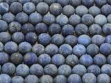Lapis Lazuli Round Gemstone Beads 8mm (GS4280)