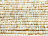 Opal Rondelle Gemstone Beads 3mm (GS4360)