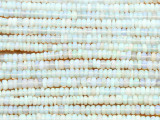 Opal Rondelle Gemstone Beads 3mm (GS4362)