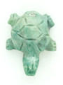 Mayan Carved Jade Amulet 26mm (GJ202)