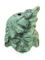 Mayan Carved Jade Amulet 35mm (GJ210)