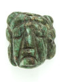 Mayan Carved Jade Amulet 27mm (GJ212)