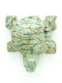 Mayan Carved Jade Amulet 29mm (GJ213)