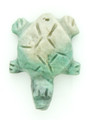 Mayan Carved Jade Amulet 30mm (GJ222)