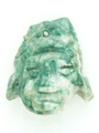 Mayan Carved Jade Amulet 34mm (GJ230)
