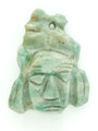 Mayan Carved Jade Amulet 32mm (GJ243)