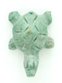 Mayan Carved Jade Amulet 26mm (GJ248)
