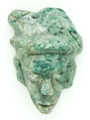 Mayan Carved Jade Amulet 30mm (GJ264)